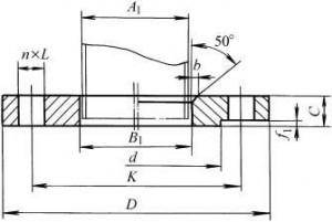 图2. 11无菌管法兰(B型)