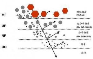 颗粒类型对过滤的影响
