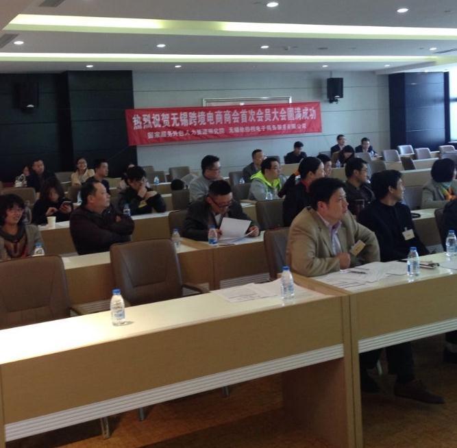 无锡跨境电商中小企业商会正式成立 (4)