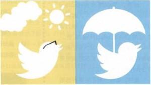 Twitter推天气广告