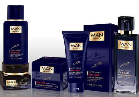 """男士化妆品 包装标明""""男士专用""""很重要"""