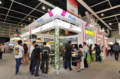第19届亚太美容展香港开幕
