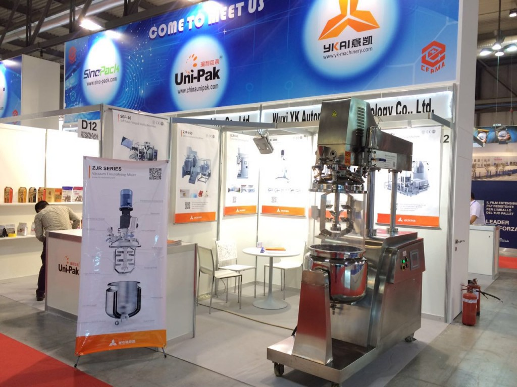 意凯乳化设备亮相 米兰世博会 展示中国制造力量