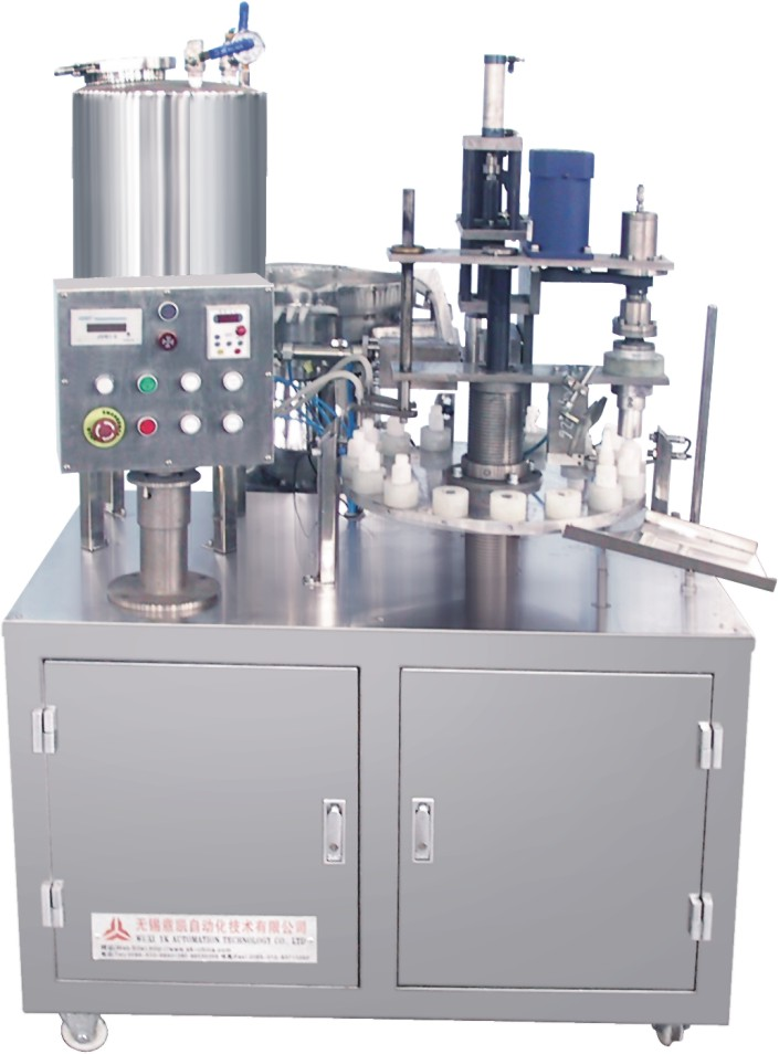SGX-1(2)瞬间胶(液体)灌装旋盖机