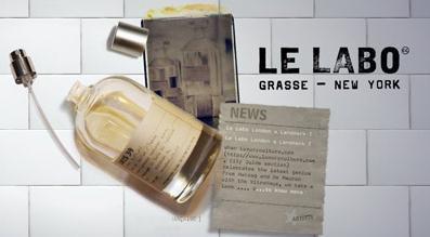 Le Labo:不合常理的 高端香水店
