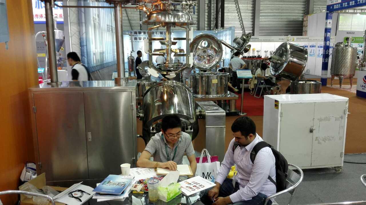 意凯携无菌乳化机备 参加CPhI China 第十五届世界制药原料中国展 (3)