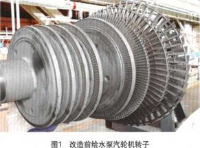 确定原则与目标,选择先进技术 改造汽动给水泵组