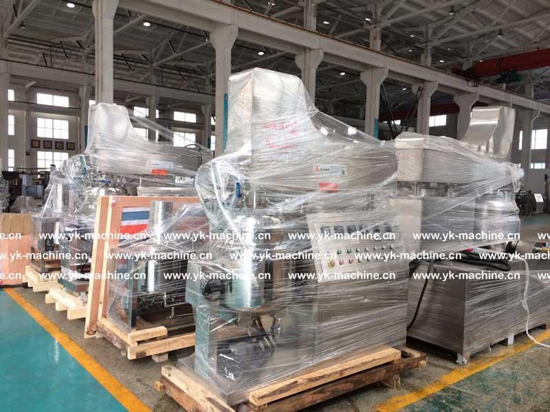 ZJR-100 真空乳化机设备发往江苏