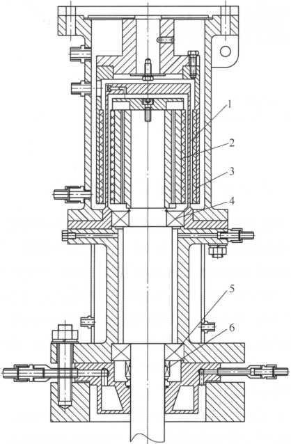 图1传统磁力密封结构