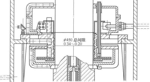 图3原有水泵机组