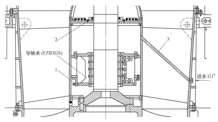 图4改进后的导轴承