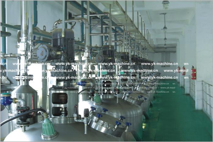高剪切真空乳化机的工作原理及其性能优势