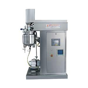 小型实验室电加热真空乳化均质机