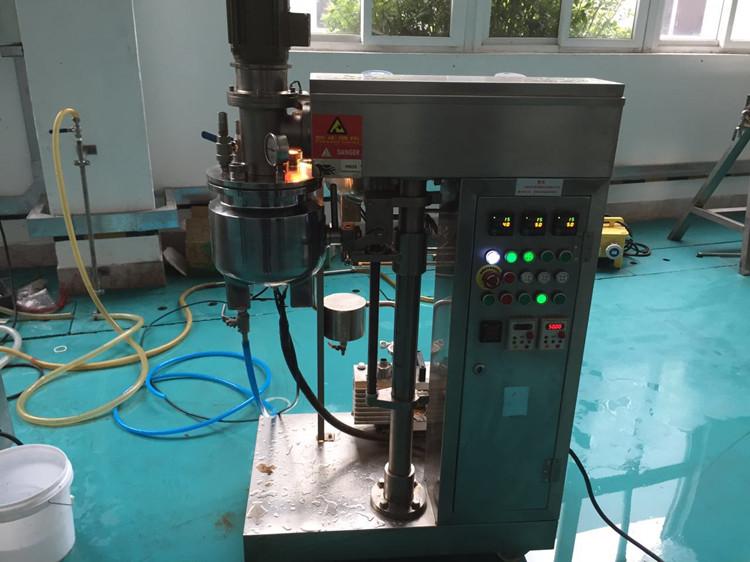 常州客户 实验室乳化机 来料试机