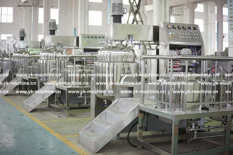 3台250L化妆品膏霜乳化机 即将发往东南亚——泰国
