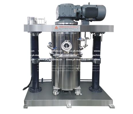 双行星/三轴多功能液压升降乳化搅拌机的原理和优势