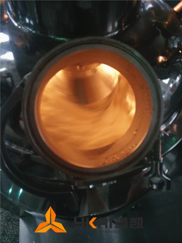 奶黄酱乳化机试机02