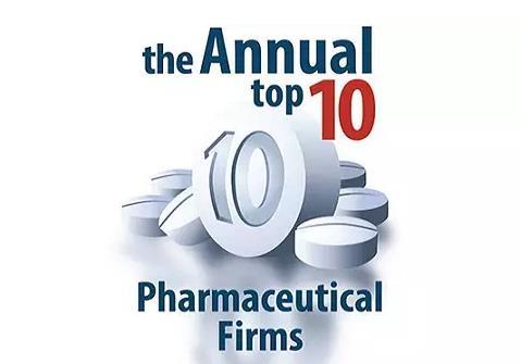 2016年全球市值最高的10家药企