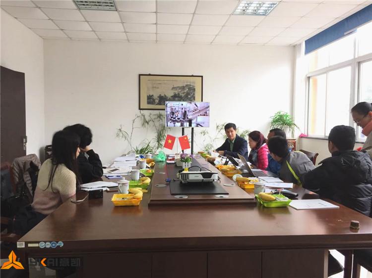 越南客户考察高剪切乳化机