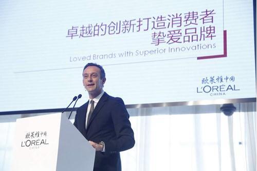 欧莱雅中国区CEO的斯铂涵