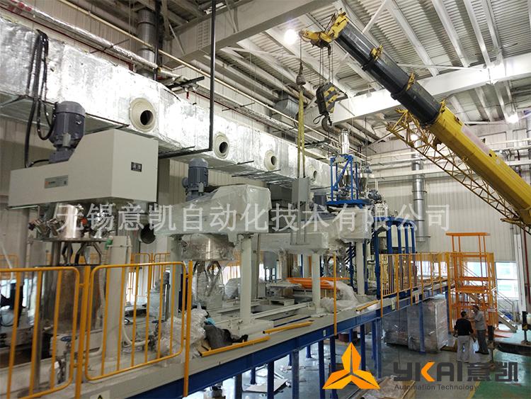 中航工业树脂生产工程现场