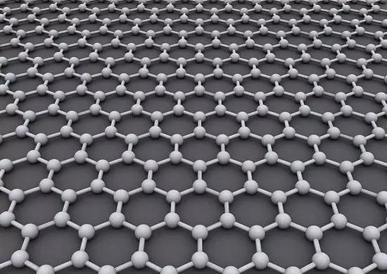 石墨烯分子排布