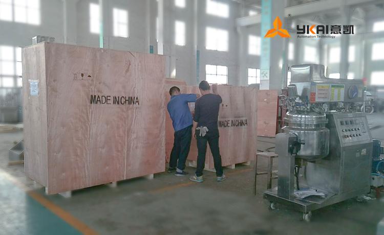 100公斤乳化机发货