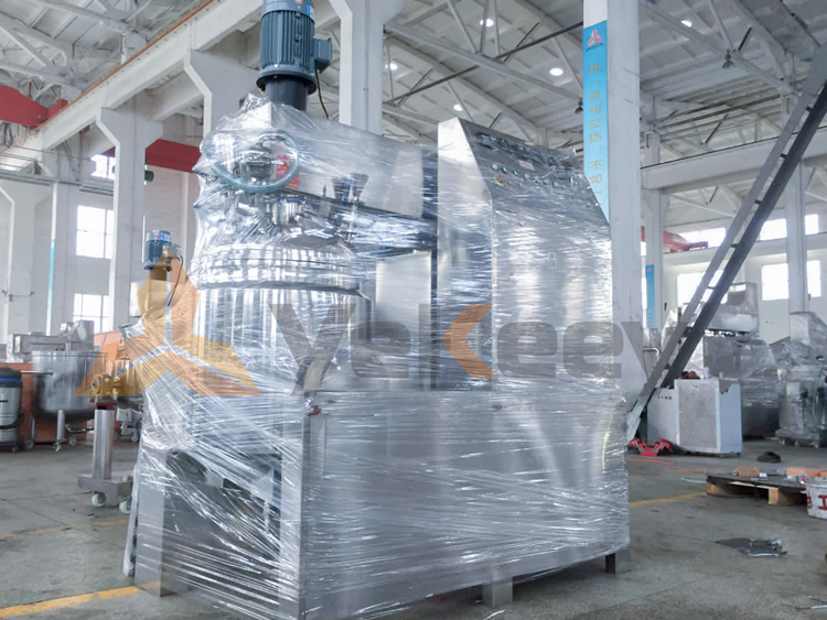 ZJR-250L西点酱真空乳化机-(2)