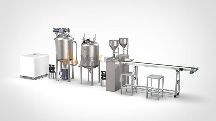 消毒液生产设备示意图