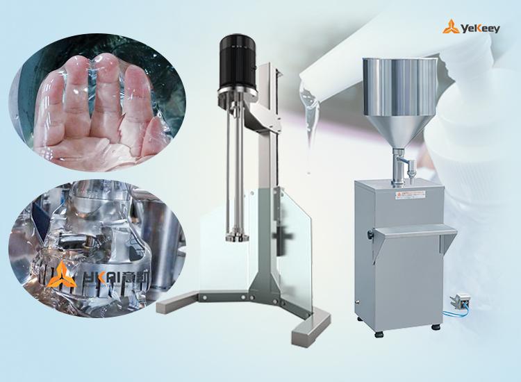 免洗手凝胶消毒生产设备