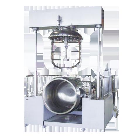 双缸液压乳化机