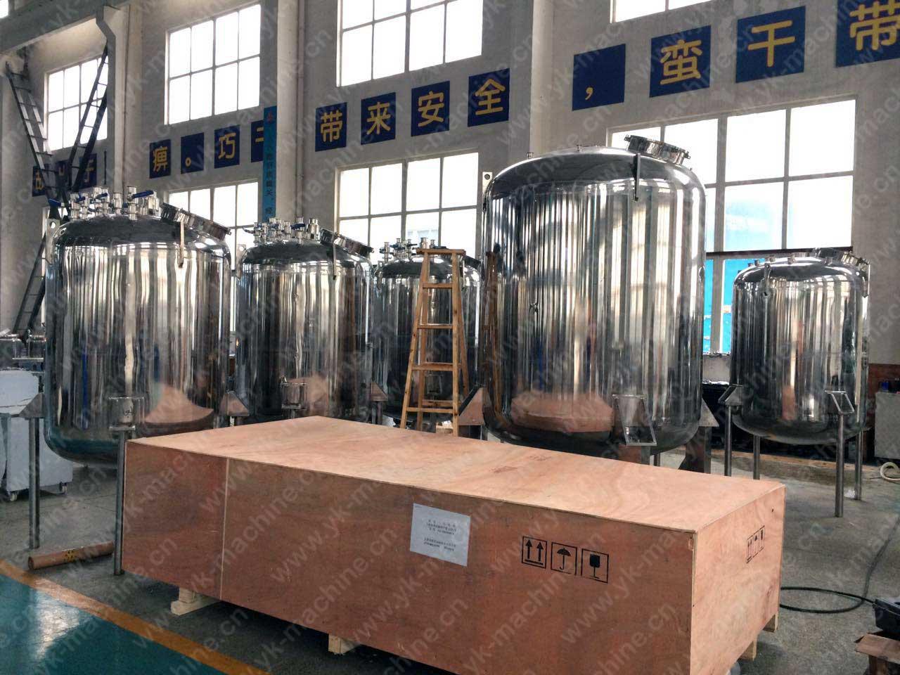 LR1000 高剪切均质机发往丹麦