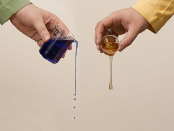 乳化搅拌机中物料流体的粘度