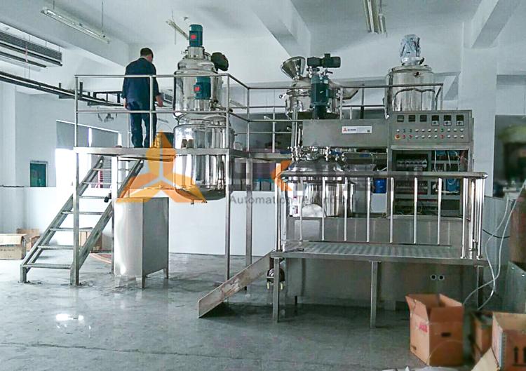 乳化机调试安装