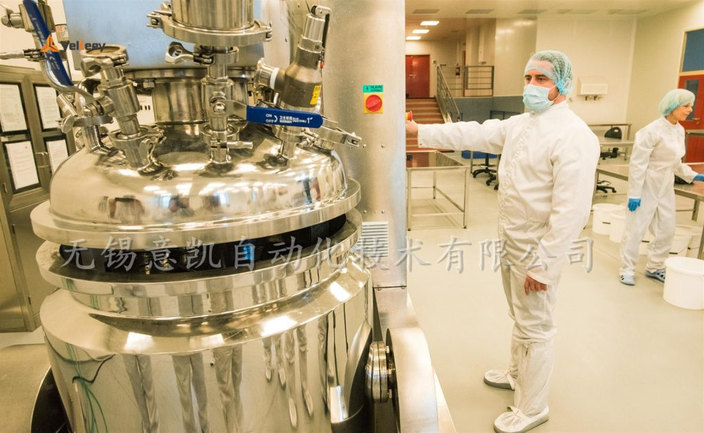 ZJR乳化机在欧洲生产消毒液 (3)