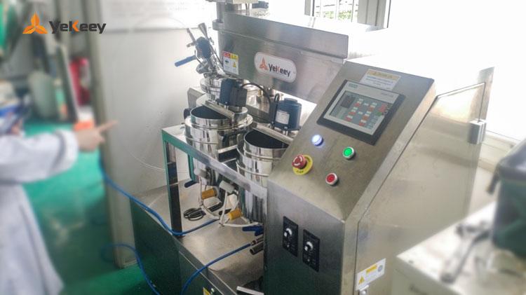 实验室乳化机安装调试