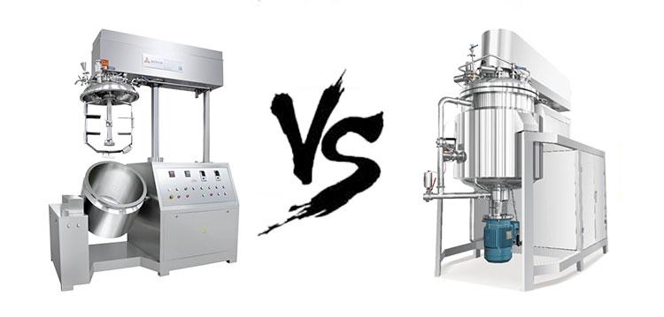 两款乳化机的区别