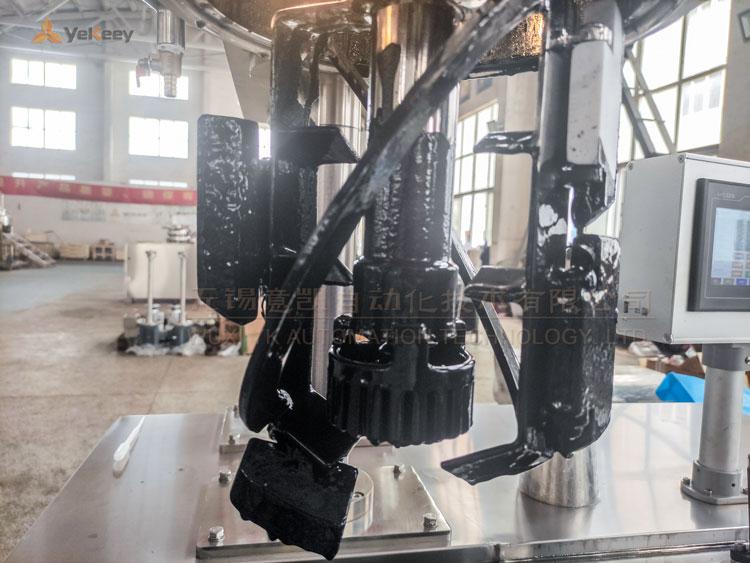 锂电池浆料分散均质乳化机试机