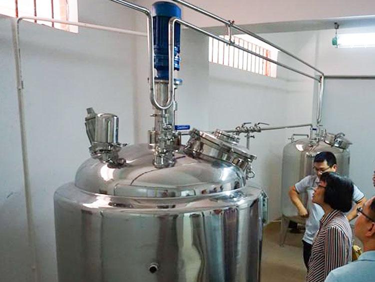 液体饲料添加剂乳化反应釜