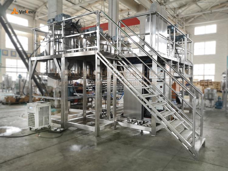 SP系列真空均质乳化釜机组